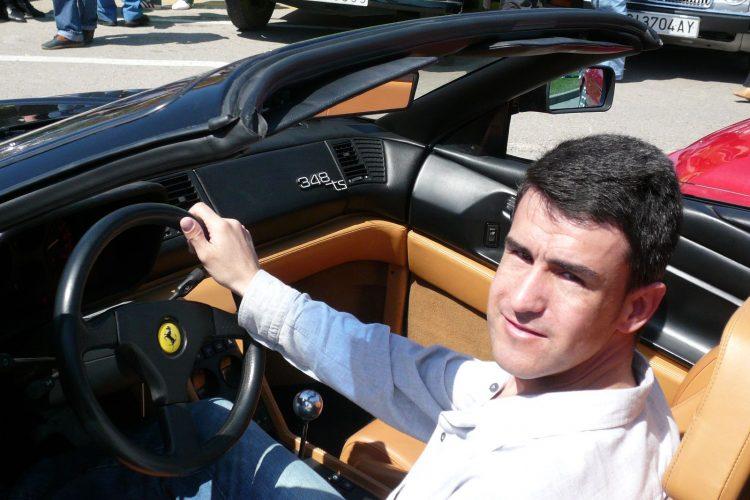 Àlex Castell a Ferrari